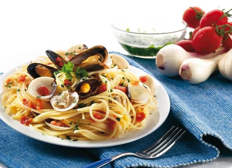 Spaghetti ai frutti di mare - Apnea Emotion